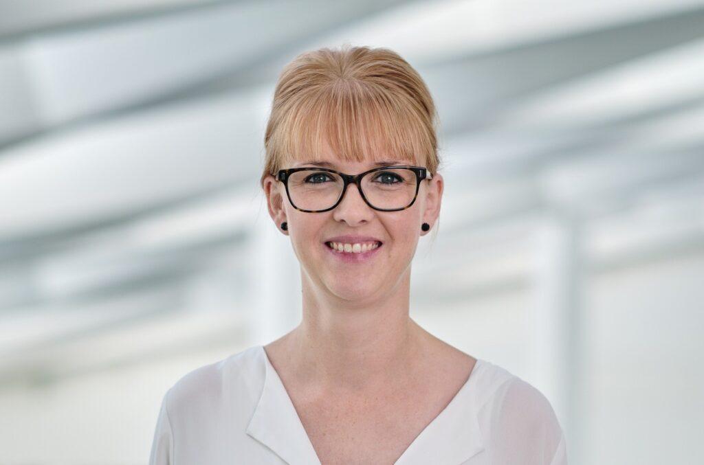 Christina Gammelby, rådgiver i Middelfart Sparekasse