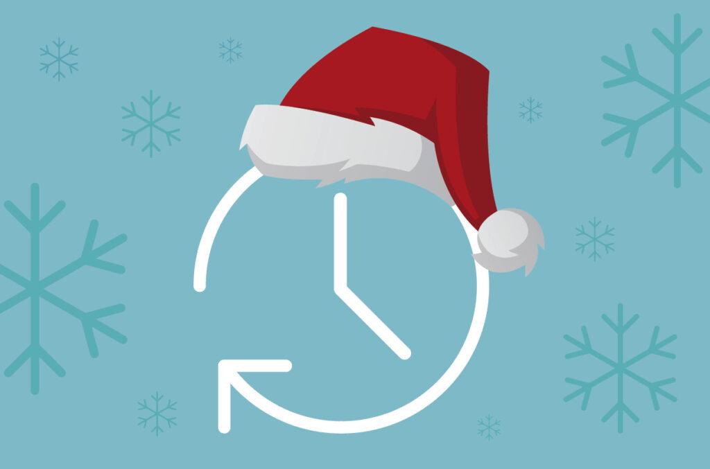 Åbningstider og tidsfrister omkring jul og nytår 2020